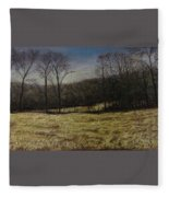 Medina Cornfield Fleece Blanket