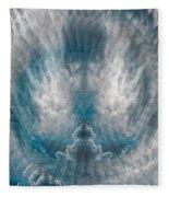 Meditating Cloud - 2 Fleece Blanket