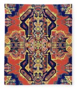 Meditation # 4 Fleece Blanket