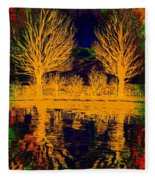 Meditation Fleece Blanket