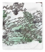 Meditations And Love Letters #15127 Fleece Blanket