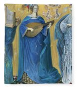 Meditations On The Holy Trinity  After The Music Of Olivier Messiaen, Fleece Blanket