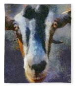 Mediterranean Goat Fleece Blanket