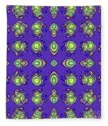 Mediterranean Pattern Fleece Blanket