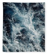 Mediterranean Sea Art 117 Fleece Blanket