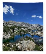 Medley Lake - Sierra Fleece Blanket