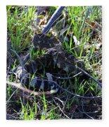 meet Ronnie the rattlesnake Fleece Blanket
