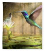 Meeting Mother Nature Fleece Blanket