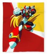 Mega Man X Fleece Blanket