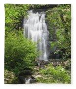 Meigs Falls 1 B Fleece Blanket