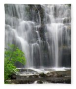 Meigs Falls 2 Fleece Blanket