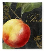 Melange Peach Peche Fleece Blanket