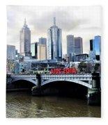 Melbourne 2014 Aids Conference Fleece Blanket