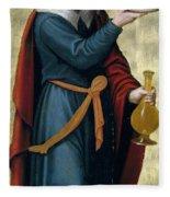 Melchizedek King Of Salem Fleece Blanket