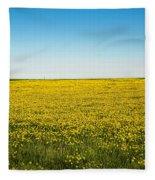 Mello Yellow Fleece Blanket