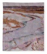 Melt Water Fleece Blanket