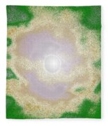 Melting Moon Fleece Blanket