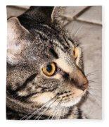 Melvin The Wondercat Fleece Blanket