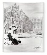 Memorial Schoenbrunn Fleece Blanket