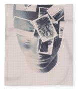 Memories Beyond The Mind Fleece Blanket