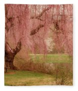 Memories - Holmdel Park Fleece Blanket