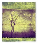Memories Like Trees Fleece Blanket