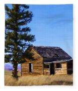 Memories Of Montana Fleece Blanket