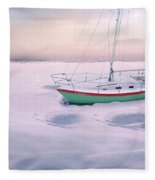 Memories Of Seasons Past - Prisoner Of Ice Fleece Blanket