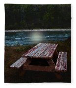 Memories Of Summers Past Fleece Blanket