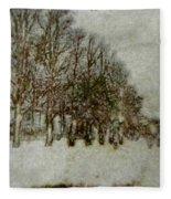 Memory Lane II Fleece Blanket