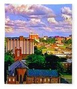 Memphis Church Fleece Blanket