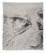 Men 3 Fleece Blanket