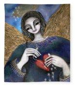 Mender Of Hearts Angel Fleece Blanket
