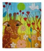 Mending Love Fleece Blanket