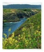 Mendocino Headlands Fleece Blanket