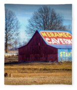 Meramec Caverns Barn Fleece Blanket