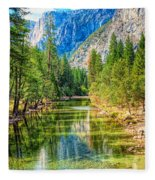 Merced River Fleece Blanket