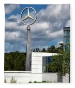 Mercedes - Benz Plant Fleece Blanket
