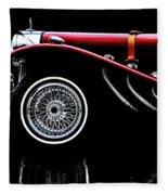 Mercedes Benz Ssk  Fleece Blanket