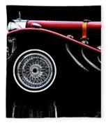 Mercedes Benz Ssk  Fleece Blanket