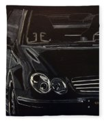 Mercedes Sl  Fleece Blanket