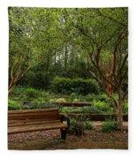 Botanic Garden Fleece Blanket