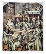 Merchants Paying Taxes Fleece Blanket