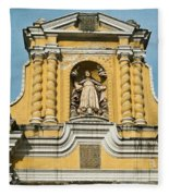 Mercid Church Antigua Guatemala Fleece Blanket