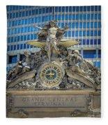Mercury At Grand Central Terminal Fleece Blanket