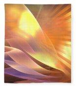 Mercury Sand Dunes Fleece Blanket