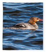Merganser Fleece Blanket