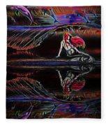 Mermaid Daydream  Fleece Blanket