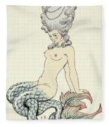Mermaid, From Les Liaisons Dangereuses  Fleece Blanket