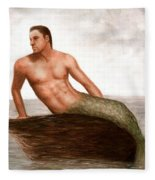 Merman Reef Fleece Blanket